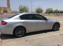 Automatic Silver Toyota 2008 for rent