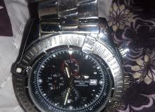 ساعة  رجالي ماركة بريتلنج...  كما هو موضح بالصور .. لاصحاب الخبره بكم ممكن تنباع
