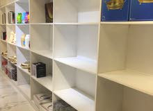 shelves and tables for shops in good condition