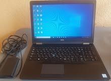 DELL LATITUDE E5570 CORE I7 6820 HQ جيل سادس رمات 16 جيجا DDR4 هارد 512 SSD M2