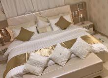 مفارش فندقية لباد سرير