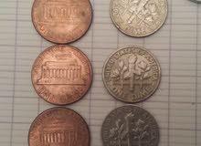 النقود القدية الامريكية