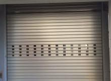 باب ألمنيوم باب محل تجاري