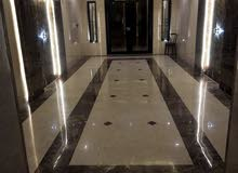 شقة 140م للايجار بحي الروضه تصميم مودرن وقريبه من شارع الكيال