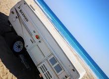 عربة للتخييم و الرحلات