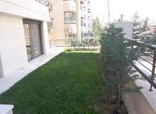 شقة ارضية مع حديقة للبيع في جبل عمان - الدوار الرابع