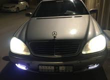 Mercedes Benz S-Class 500 model 1999