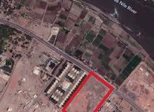 للبيع قطعة أرض بشارع النيل جوار الفلل الرئاسية
