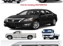 We have available all vehicle for rent