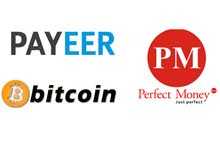 مطلوب Payeer أو PerfectMoney