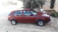 Red Volkswagen Golf 1991 for sale