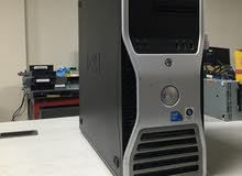 DELL T3500 XEON E5620 برسيسور4 كور كاش 12 ميجا// استيراد للرندر العالي