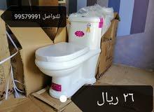 للبيع مراحيض مغاسل وحنفيات جديده