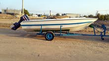 قارب نزهة 18 قدم للبيع