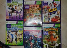 Xbox 360 Kinect games (V. Good condition)