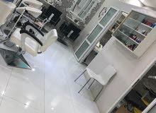 صالون نسائي في صحم للبيع موقع ممتاز Women's Salon in Saham for sale