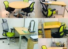 مكاتب مجهزة مؤثثة شهرية بمساحات مختلفة