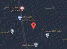 قطعة ارض سكنيه 100 متر في بغداد حي الجهاد