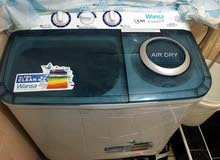 one month used washing machine for sale. 30KD.