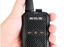 Portable Walkie Talkie 2-Way Radio