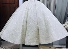 فستان زفاف 2020 ملكي ليزر مرسوم للبيع