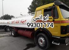تنكر مياه عذبه صالحه لشرب جميع مناطق الكويت