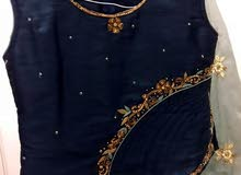 Indian occasion set (top+skirt+matching scarf) size small perfect condition