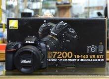 NIKON D7200 WITH 18-140 VR2&80-200 2.8D