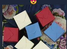 بوكسات الهدايا توزيعات للمناسبات ميني هدايا علب الوان box gift color