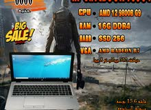 HP ELITEBOOK 755 G4 جيل تااسع رمات 16 جيجا DDR4 هارد 256 SSD جرافيكس 2019
