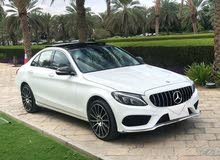 White Mercedes Benz C 300 2015 for sale
