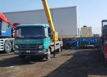 ونش سلة رافعة اشخاص 28 متر موديل 2012 للايجار