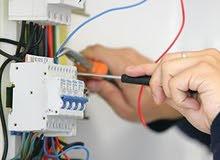 كهربائي تمديدات وصيانة الأجهزة الكهربائية