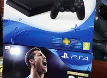PS4 SLIM NEW (500GB-1TB) سوني 4 سلم جديدة كفالة سنة +13 لعبة أقوى عرض!! بلايستيشن