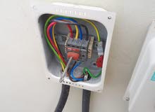 كهربائ لصيانة بالشقق والعماير والمحلات التركيبات جديدة Electric