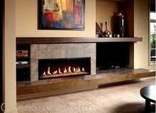 فيربليس غاز fire place اسعار منافسة جودة عالية صيانة جميع انواع الفيربليس