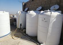 خزانات مياه المتحدة 2.25 متر شبه جديد