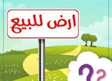 عرطة من المالك راسا.. ارض ست لبن حر شارعين 12+5 في منطقة حزيز قريب جدا من الزفلت
