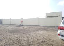 ارض صناعيه للايجار  يوجد بها مكتب جاهزه للايجار مساحة الارض 1.50 متر.
