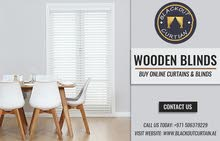 Buy Online Wooden Blinds in Dubai