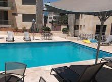 للإيجار شقة مفروشة مع مسبح مشترك عبدون