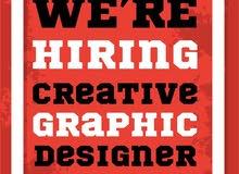 مطلوب graphic designer للعمل فورا في معرض اجهزة خلوية في منطقة السابع