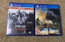 ألعاب PS4 للبيع