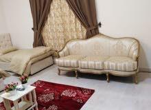 شقة مفروشه للإيجار  مكونة من : غرفتين  غرفة نوم رئيسية غرفة أطفال 3 أسرة م