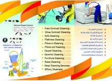 التنظيف العام للمباني