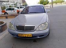 مرسيدس s500 موديل 2001 للبيع العاجل