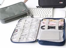 حقيبة صغيره ومنظم الكابلات صندوق القرص الصلب/منظم الكابلات/واقية كم الحقيبة حالة حقيبة للآي باد