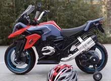 دراجة نارية رائعه جدا للأطفال من عمر 1 الي 6 سنوات