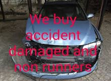 SCRAP CARS WE ARE BUYING RUNNING NON RUNNING ACCIDENT DAMAGE ANY MODEL ALL