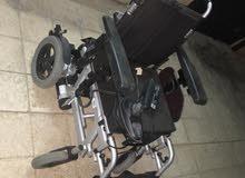 كرسي كهربائي متحرك لذوي الاحيتاجات الخاصه